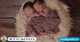 Дают ли материнский капитал за двойню?