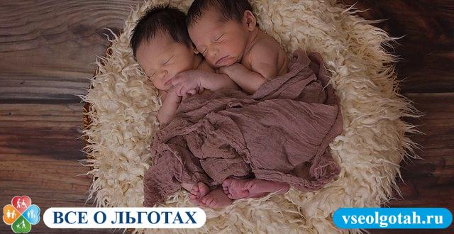 Как дают материнский капитал за двойню