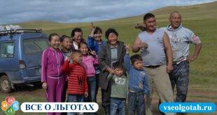 Поддержка многодетных семей в России